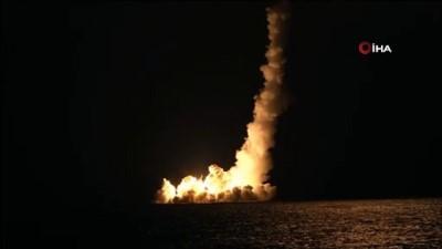 balistik -  - Rusya, 8 bin kilometre menzilli balistik füze denemesi yaptı