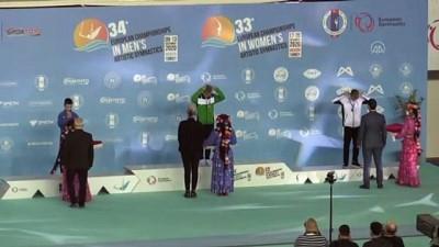 MERSİN - Avrupa Erkekler Artistik Cimnastik Şampiyonası - Gençler kategorisi sona erdi