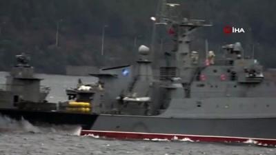 - Bulgar savaş gemisi 'Smeli' Çanakkale Boğazı'ndan geçti