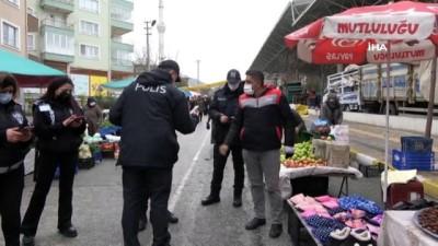 Çankırı'da hafta sonu 20 kişiye 'kısıtlama ihlali' cezası