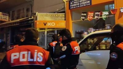 Alkollü şahıs polis ekiplerine zor anlar yaşattı