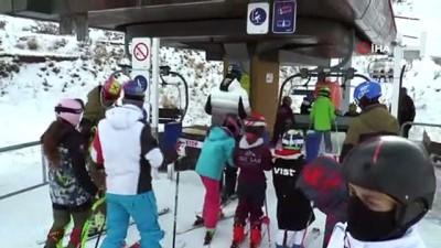 icisleri bakanligi - Anatolia kupası kayak yarışları 11 ülkenin katılımıyla Erzurum'da başladı