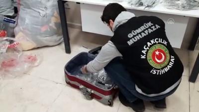 ARTVİN - Sarp Sınır Kapısı'nda gümrük kaçağı 1051 diş hekimliği malzemesi ele geçirildi