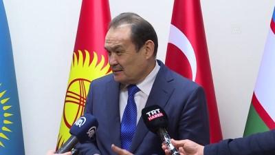 disisleri bakanlari - İSTANBUL - İstanbul Valisi Ali Yerlikaya ve Bilal Erdoğan'dan Türk Konseyi Genel Sekreterliğine 'hayırlı olsun' ziyareti