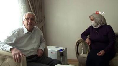solunum cihazi -  Korona virüsü 50 günde yenen emekli öğretmen, yaşadıklarını gözyaşları içinde anlattı