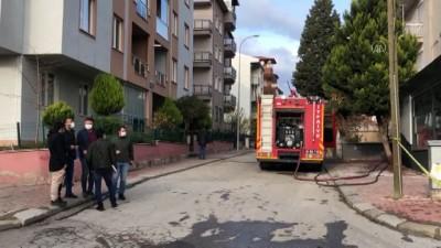 UŞAK - Bir evde meydana gelen patlamada 2 kişi yaralandı
