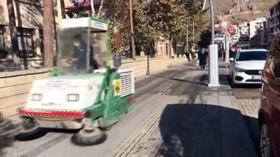 Bayburt'ta cadde ve sokaklar temizlendi