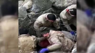elektrik kablosu -  Çocukları tarafından boğularak öldürülen babanın cesedi mağaradan çıktı