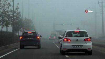 ucak seferleri -  Diyarbakır'ı sis kapladı, uçak seferleri iptal edildi