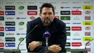 Erol Bulut: 'Penaltımız ve golümüz verilmedi'