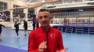 olimpiyat oyunlari - Türkiye Kadın Boks Milli Takımı çalışmalarını sürdürüyor