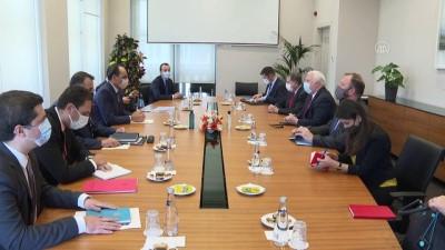 ANKARA - Cumhurbaşkanlığı Sözcüsü Kalın, ABD'nin Suriye Özel Temsilcisi Rayburn ile görüştü