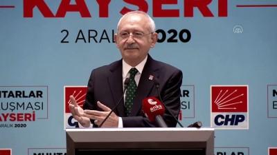 muhtarliklar - KAYSERİ - Kılıçdaroğlu: 'Bağımsız bir muhtarlık kanunu olması lazım'
