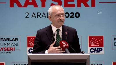 muhtarliklar - KAYSERİ - Kılıçdaroğlu: 'Türkiye Muhtarlar Birliği de olmalı'