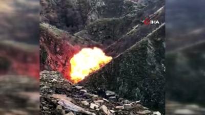 funye -  Bitlis'te PKK'nın kış üslenmesine büyük darbe