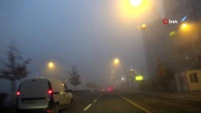 ucak seferleri -  Diyarbakır'da 4 gündür etkili olan sis hayatı olumsuz etkiliyor