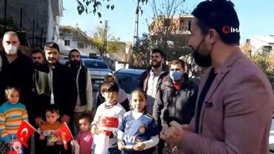 ronaldo -  Gaziantep kırsalındaki öğrencilere 'Ronaldo forması'