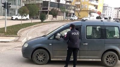 Sınır kenti Kilis'te sokağa çıkma kısıtlamasına uyuluyor