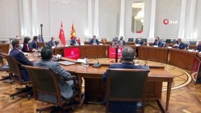basbakan -  - TBMM Başkanı Şentop, Kuzey Makedonya Başbakanı Zaev ile görüştü