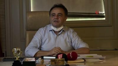 Başkan Şahin 'Haciz' iddiaları hakkında bilgi verdi