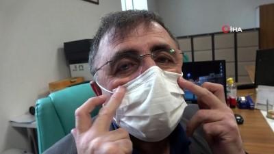 nadan -  Sivas'ta üretildiler, bu maskeler buğu yapmıyor, kulak ağrıtmıyor