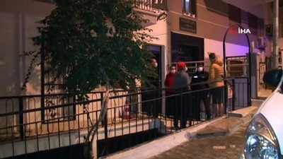 demir parmaklik -  2'inci katın balkonundan atlayan hırsızlar polislerden kaçamadı