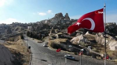 - Dünyanın en yüksek peribacasını 12 ayda 116 bin 300 turist ziyaret etti