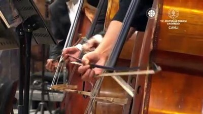 ANKARA - Cumhurbaşkanlığı Senfoni Orkestrası yeni binası açılış töreni