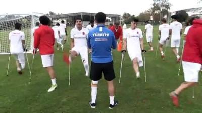 ANTALYA - Yetiştirme yurdundan Ampute Milli Futbol Takımı'na azmin hikayesi