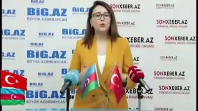 BAKÜ - Azerbaycanlı gençler Çavuşoğlu'na teşekkür etti: 'Azerbaycan'a sevgi ve desteğinizi hissettik'