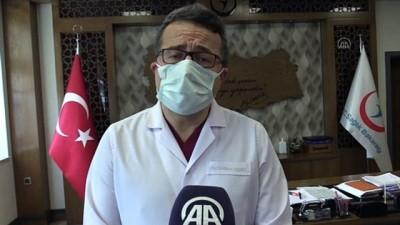 ÇORUM - Başhekim Prof. Dr. Mesut Sezikli: 'Artık gençlerin de Kovid 19'a yakalanma ihtimali yükseldi'