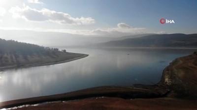 Bolu'nun içme suyunun karşılandığı barajda su seviyesi yüzde 21'e düştü