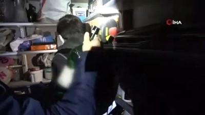 Burdur'da 380 litre kaçak içki ele geçirildi