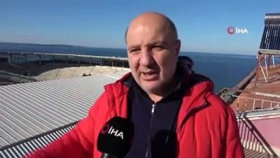 Sinop'un modern stadı spor turizmini canlandıracak