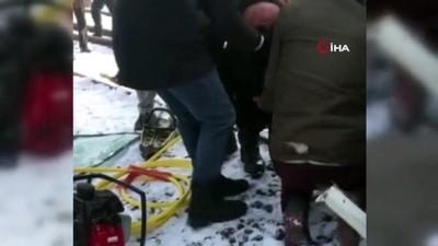 yuk treni -  Tren kamyonete çarptı: 1 yaralı