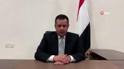 basbakan -  - Yemen Başbakanı Abdülmalik: 'Havalimanındaki saldırı bizi, devleti yeniden kurma savaşından caydırmayacak'