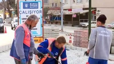koprulu -  Bursa Büyükşehir Belediyesi'nin çalışmaları trafiği rahatlatıyor