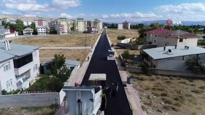 sosyal belediyecilik -  Erciş'te 80 bin ton üretimle yollar asfaltlandı