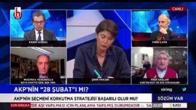 Halk TV'de yeni skandal! Başörtülü hakimlere hakaret!