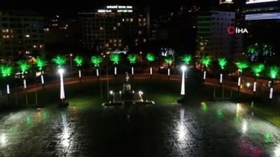 dar sokaklar -  İzmir'de sessiz yeni yıl akşamı