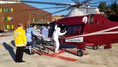 ambulans helikopter -  Korona virüse yakalanan sağlık çalışanı alkışlar eşliğinde taburcu oldu