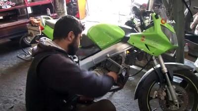 Motosiklet hırsızlarına karşı ek güvenlik önlemleri uyarısı