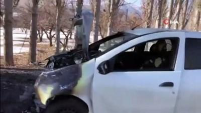 Otomobiller kafa kafaya çarpıştı: 4 yaralı