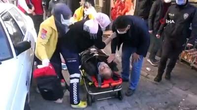 Yeğeni tarafından vurulan adam ağır yaralandı
