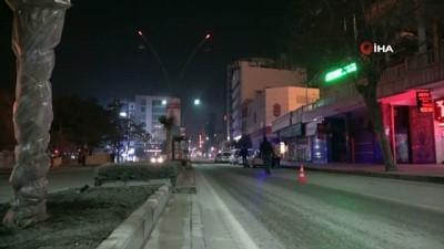 deprem bolgesi -  Yılbaşı kısıtlamasıyla deprem bölgesi Elazığ'da sessizliğe büründü