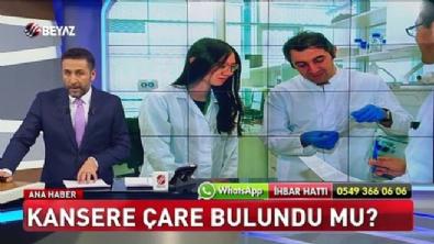 Kansere karşı Türk doktorlardan mucize buluş!