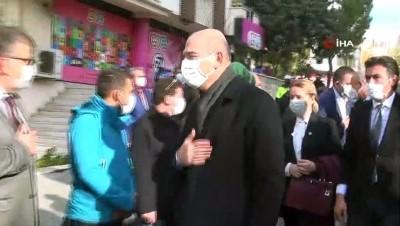- İçişleri Bakanı Soylu'dan AK Partili milletvekiline taziye ziyareti
