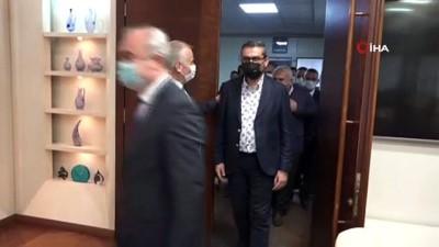 cumhuriyet -  MHP İl Teşkilatından Başkan Zolan'ı ziyaret