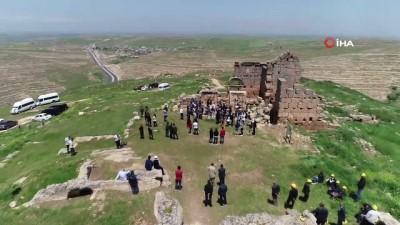 peygamber -  Pandemiye rağmen Zerzevan'a ziyaretçi akını