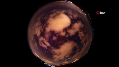 uzay istasyonu -  Uluslar Arası Uzay İstasyonu Marmara bölgesinde çıplak gözle görülebildi